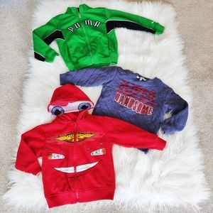 Boys Toddler Size 3 sweaters and hoodies